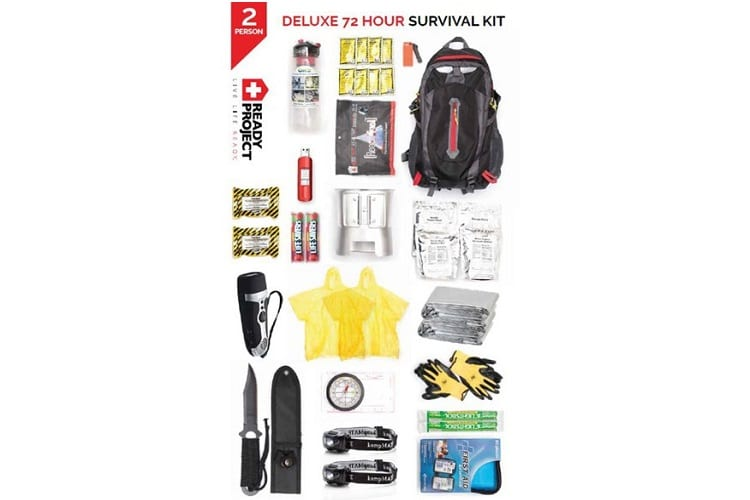 Ready Project 2-Person Deluxe 72 Hour Survival Kit