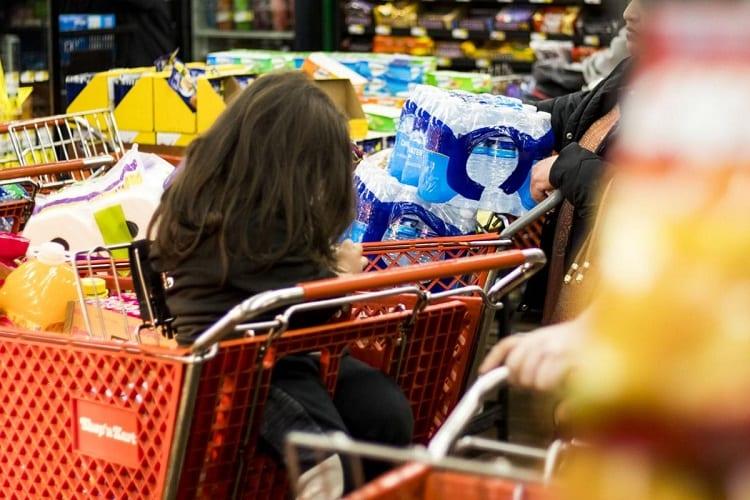 Supplies In Shopping Cart