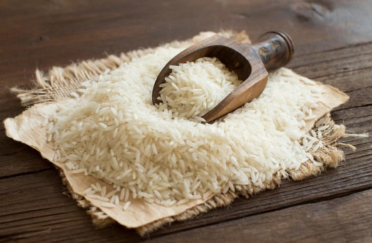 White Rice On The Table