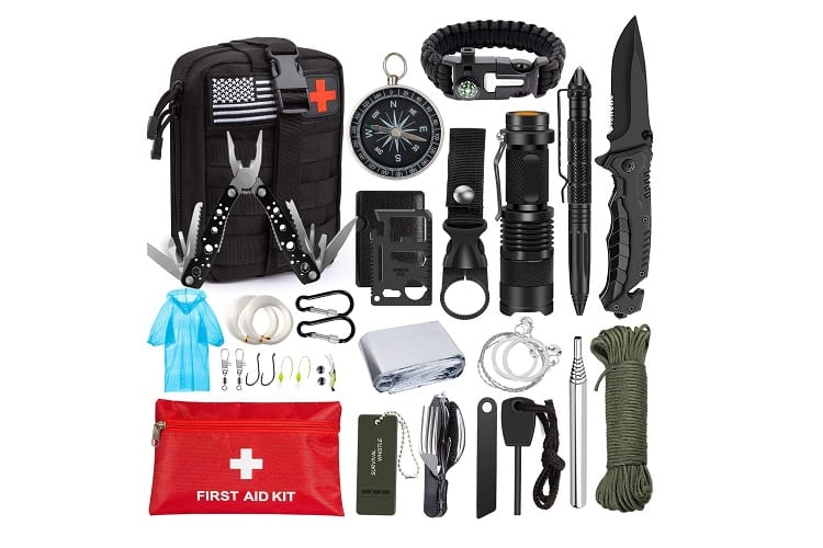 Emergency Survival Kit 47 in 1