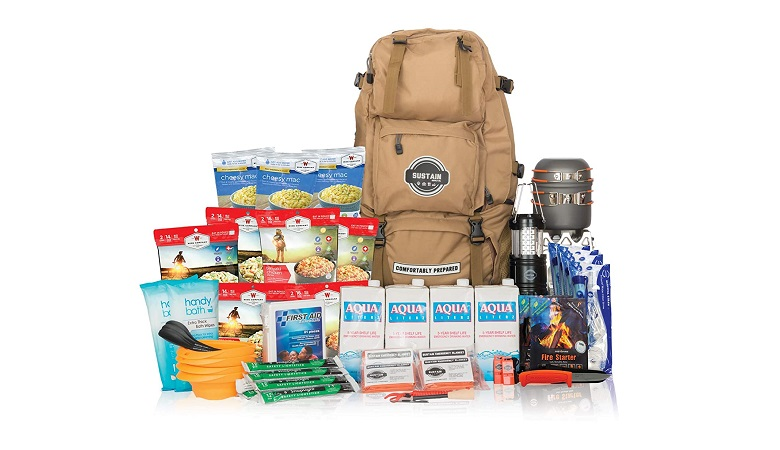 SUSTAIN SUPPLY CO. FAMILY BUG OUT BAG