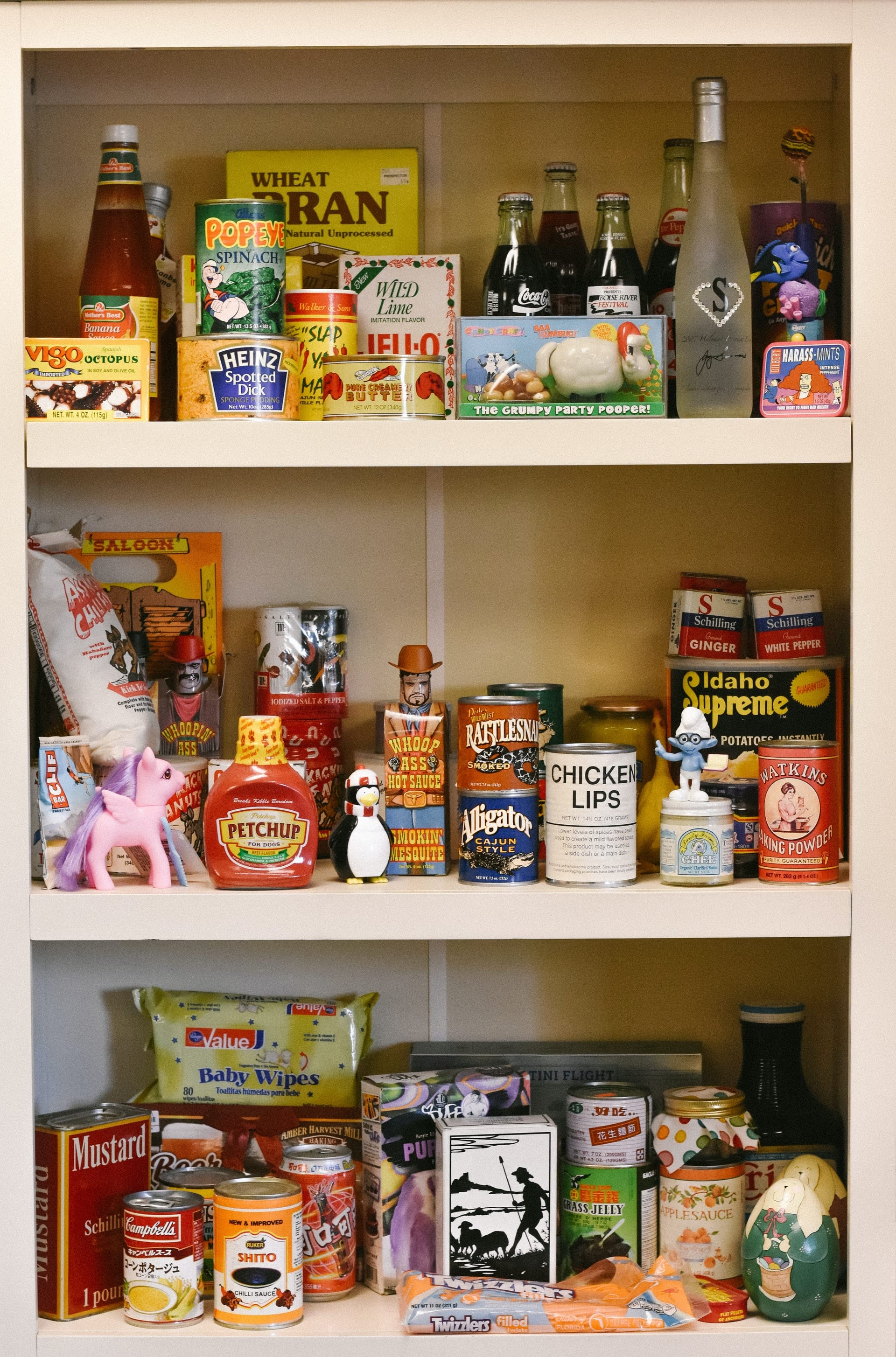 Your pantry is full of emergency food.