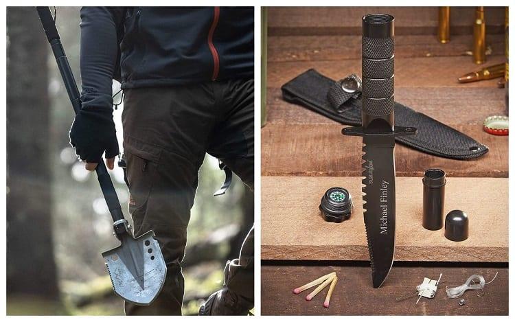 Survival Shovel vs Survival Knife