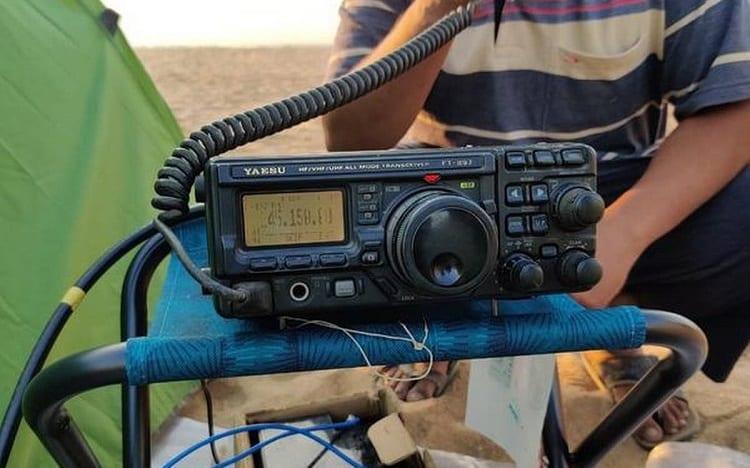 Using HAM Radio
