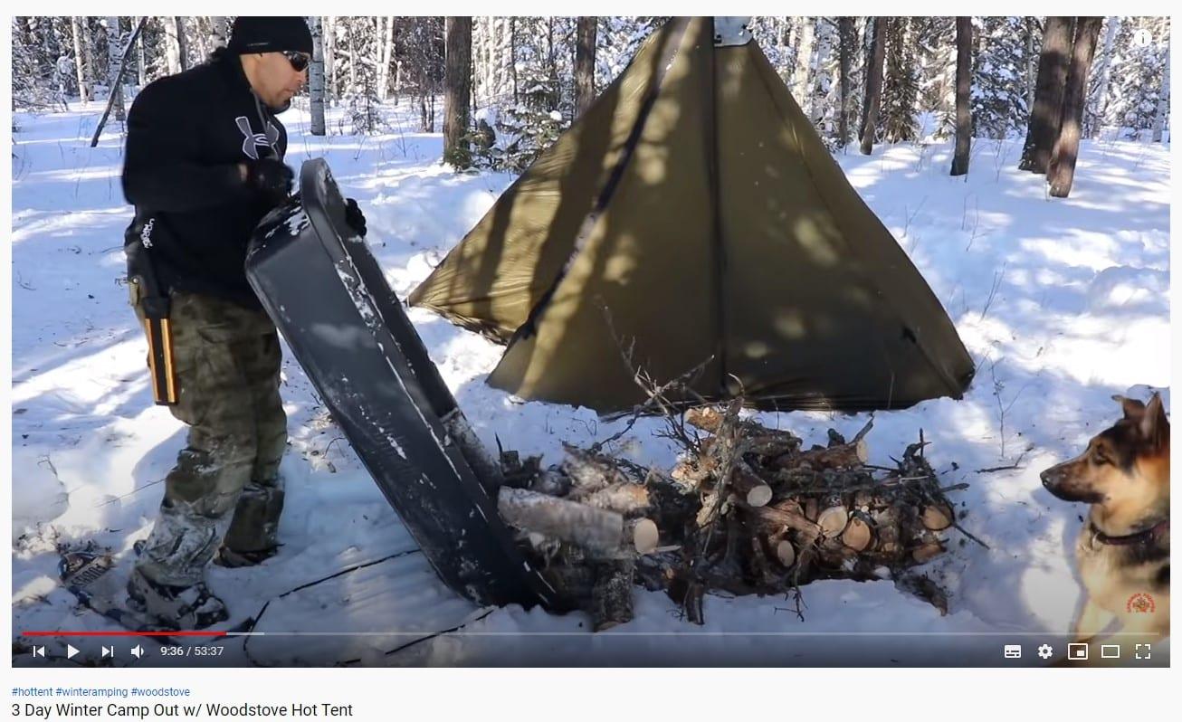 Canadian Prepper camping