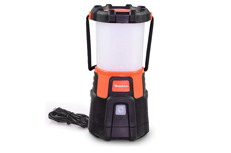 Blazin Fireball USB Rechargeable LED Lantern Review