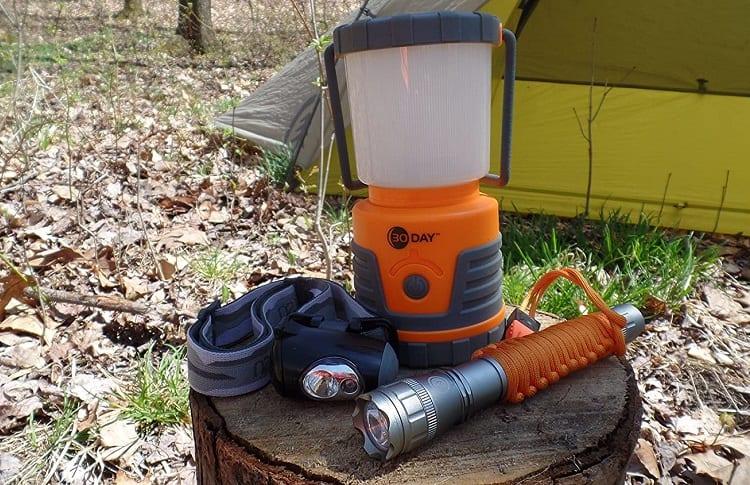 duo portable lantern