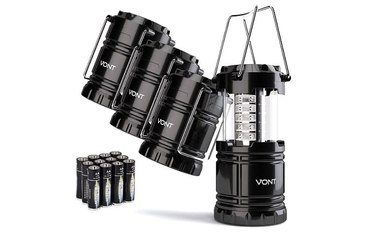 Vont 4 Pack LED Camping Lantern Review