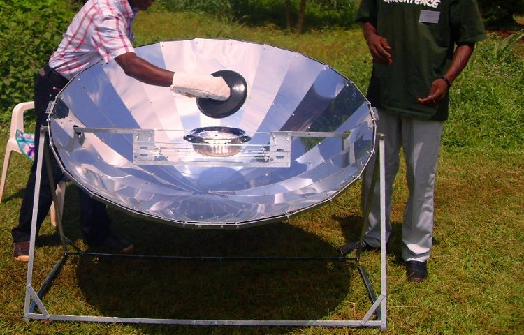 beans in solar oven
