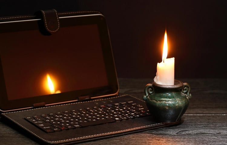 internet acces during power outage