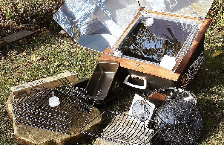 cleaning solar oven