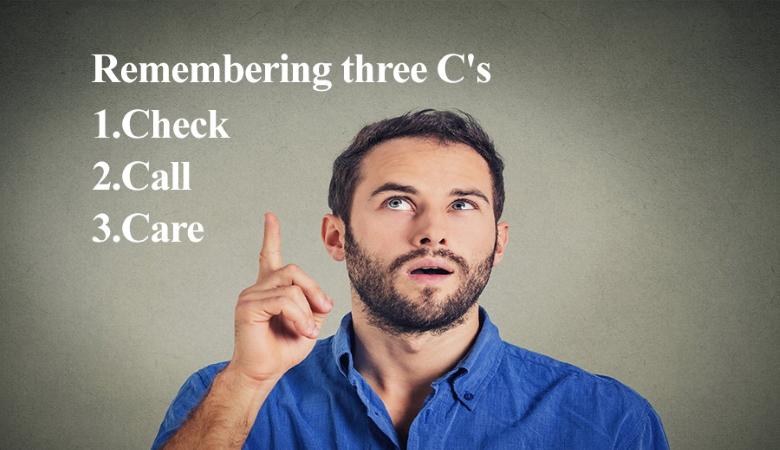 Remembering three Cs