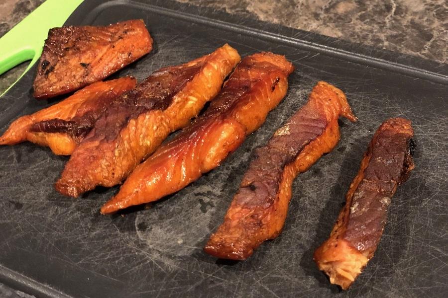 DIY Salmon Jerky