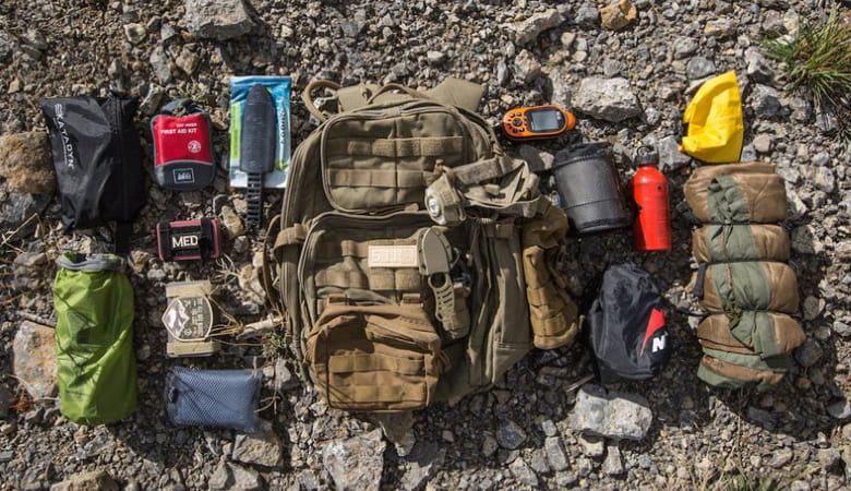 Survival Backpack Content