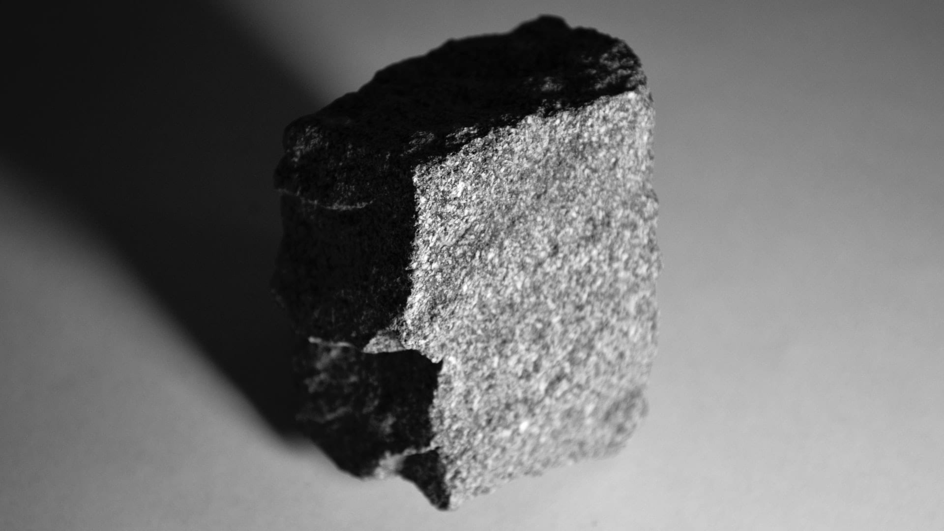 sharpening rock